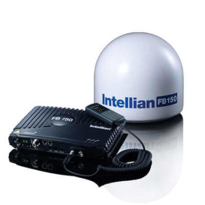 Intellian FB150 FleetBroadband in i4 Dome