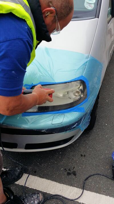 Scratched Glass Repairs - Sevices We Offer | Aquamare Marine