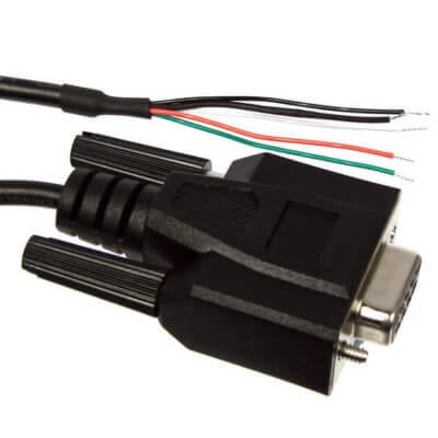 DB9-F Cable Assembly 9pin / D Type - female