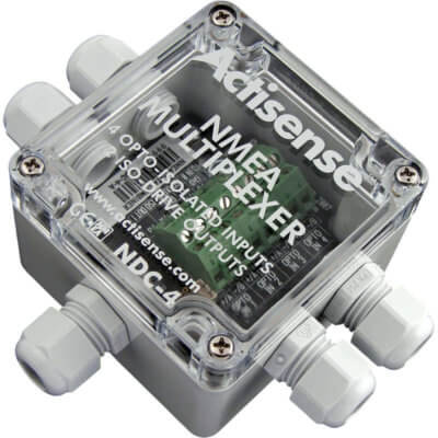 NMEA Multiplexer pre-configured for AIS operation with USB - NDC-4USBAIS