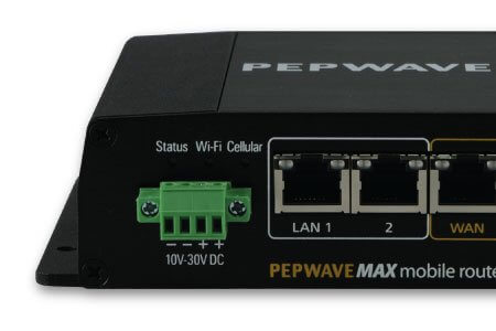 Pepwave Max BR1-LTE Motorhome 4G Wifi MIMO System