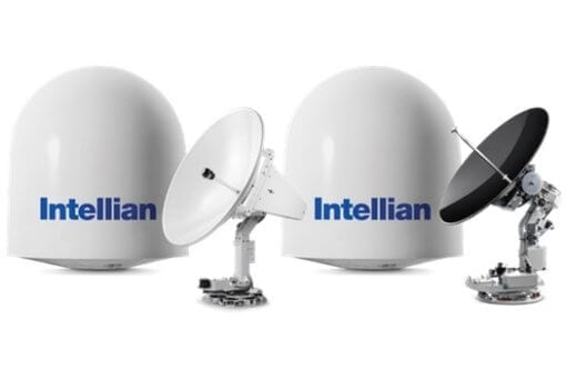 Intellian t100W Marine Satellite TV Antenna