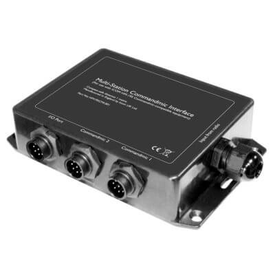 ICOM Dual Command Microphone Interface