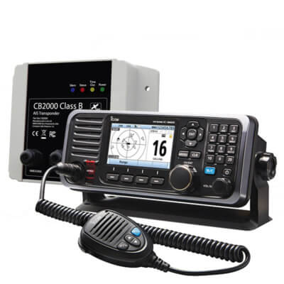 ICOM M605 CB2000 AIS and N2K Starter Kit