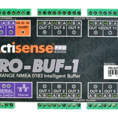 PRO-BUF-1 Professional NMEA 0183 Buffer - Pluggable Screwless Terminals