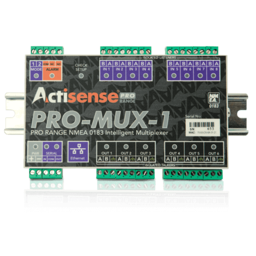 PRO-MUX-1 Professional NMEA 0183 Multiplexer - with pluggable screw terminals