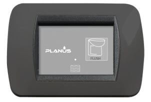 Planus Slim Switch 2 Button 12/24v
