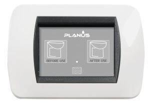 Planus Slim Switch 1 Button 12/24v